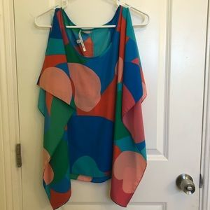 BATWING TOP BY COLLECTIVE CONCEPTS DILLARDS
